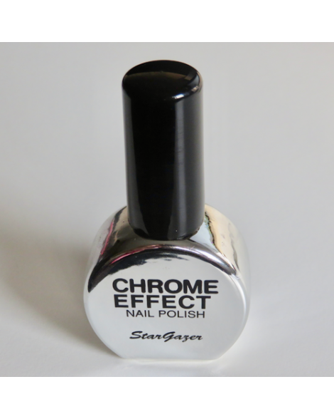 Chrome Nagellak Zilver