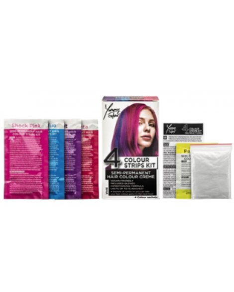 Yummy Colour 4 Colour Strips Kit