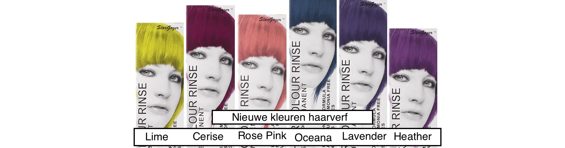 Nieuwe kleuren haarverf